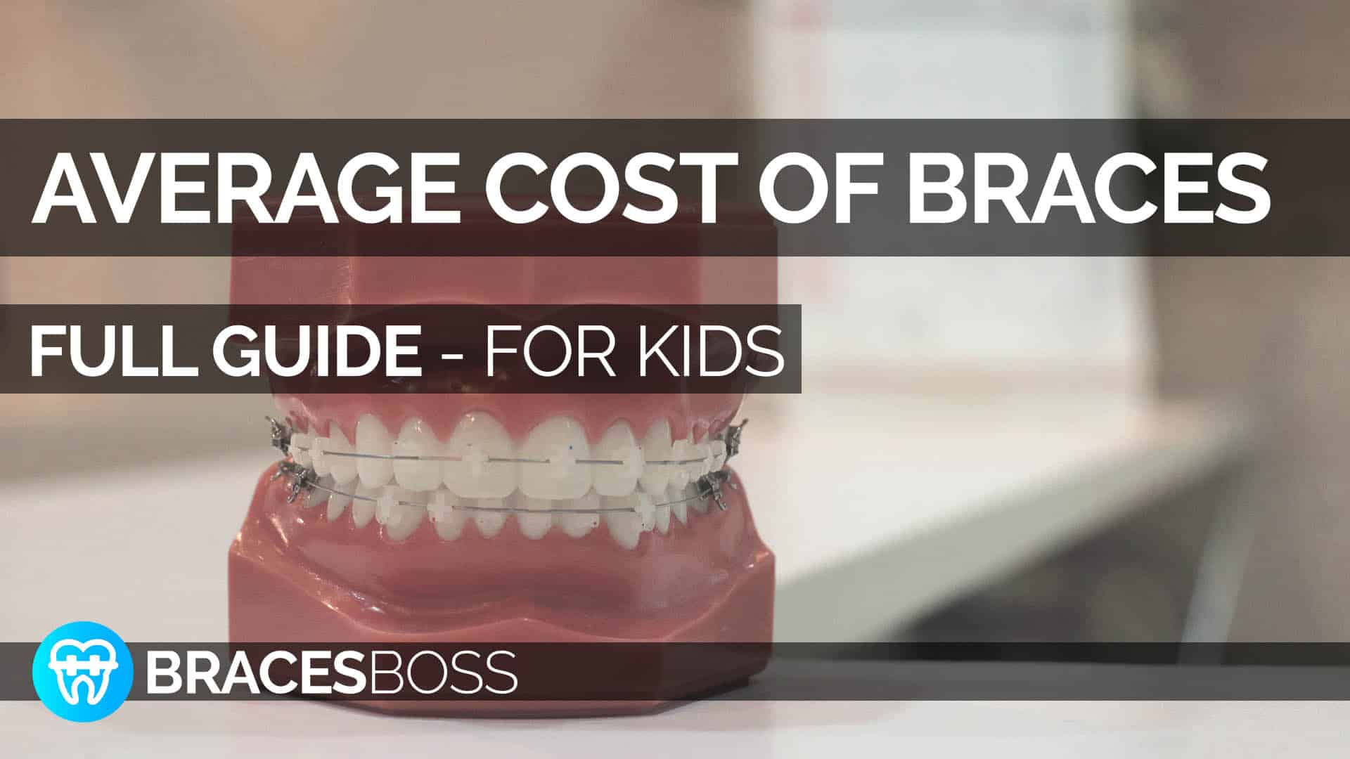 average cost of braces for children